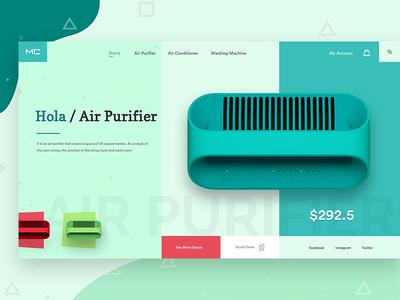 Hola Air Purifier