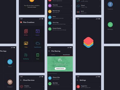 Dark Theme App