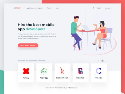 Working Project companies design uiux clients development biding projects hire website mobile