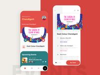 Events App Design