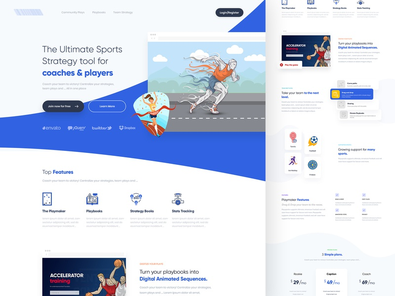 Working on new project web design product design print mobile concept branding gradients creative website uiux blue theme modern interface sports branding homepage design illustration design