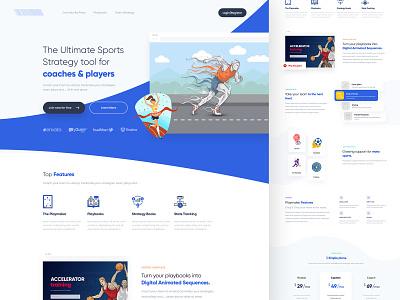 Working on new project web design product design print mobile concept branding gradients creative website uiux blue theme modern interface sports branding homepage design illustration design
