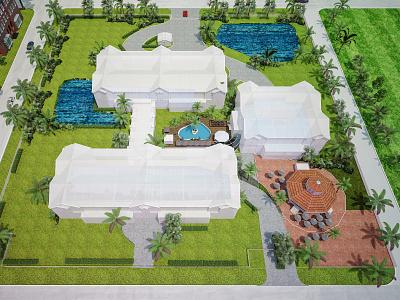 Landscape architecture design architecture design landscaping render product design print illustration branding adobe illustrator 3d trending animation