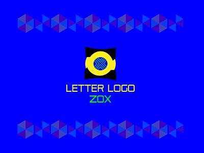 LETTER LOGO ZOX illustration freelancing 3d logo design brand maker letter logo gradient color logo logo mark logo design branding logotype logo