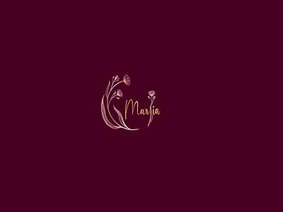 Maria illustration 3d logo design brand maker logo mark gradient color logo logo design branding logotype luxury luxury brand luxury design luxury logo logo