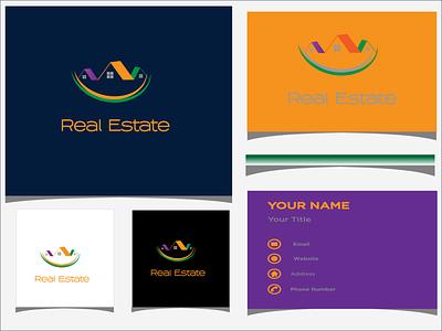 Real Estate 3d logo design logo mark branding logodesign illustration brand maker logo design branding logotype logo real estate branding real estate logo real estate