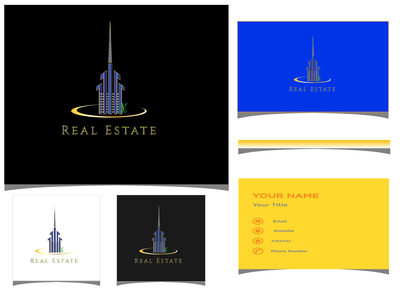 REAL ESTATE luxury branding luxurious luxury logo logodesign logotype luxury 3d logo design luxury real estate logo luxury design luxury real estate real estate real estate logo realestate logo