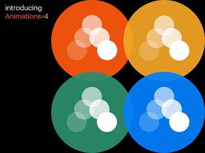 Animations×4 design animation readymag interface ui