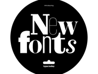 type.today typefaces in Readymag's Font Library