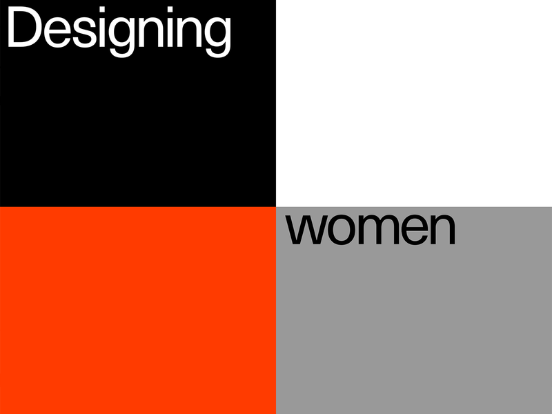 designing women — project by Readymag team women cover essay design