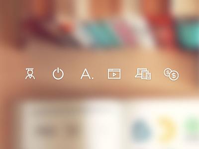 Icons icons school study