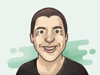 Rob studypug illustration caricature