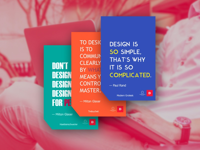 Designers Quotes Stickers By Viktoria Stalybka Dribbble Dribbble