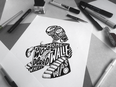 Walle - initial sketch