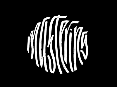 Mastering - Callivember composition circle texture handdrawn typography type letter lettering callivember