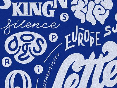 Homwork - Close-up hashtaglettering handtype illustration details homwork texture type typography drawing letters drawing lettering hand drawn