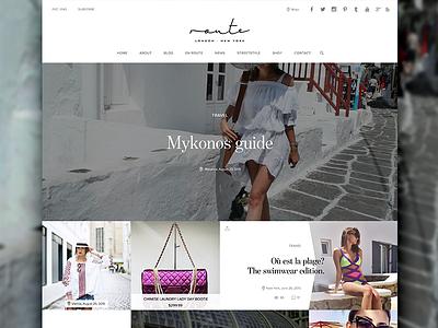 RLNY — fashion blogger website jet set reactive meteor responsive masonry clean luxurious fashion