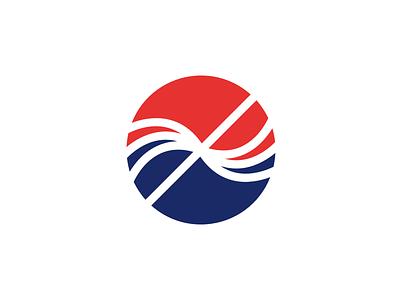 Brandmark for Frontier Infrastructure aquaculture frontier mark sign symbol logo brandmark