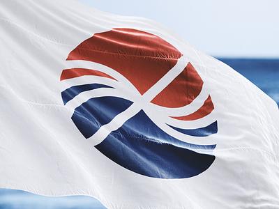 Brandmark for Frontier Infrastructure aquaculture brandmark logo symbol sign mark frontier