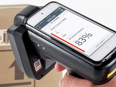 Checkpoint Systems Mobile - Use to locate item locate item logistics warehouse storage scan locate saas iphone