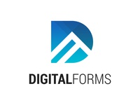Digital Forms Logo #2