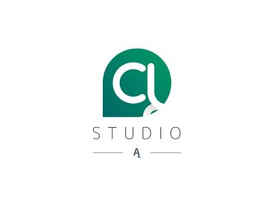 Studio Ą for sale logo design logotype a letter ą studio logo