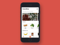 App for grocery shopping.