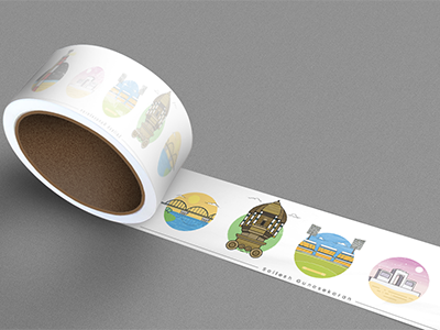 Sticker Mule Packing Tape