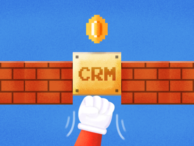 Choosing your sales CRM illustration freshsales freshworks blog gamification gold game mario business crm sales