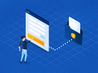 Web forms ux ui isometric texture sales lead india illustration form feature crm chennai