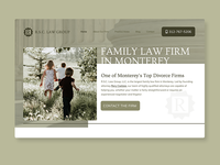 Family Law Web Concept