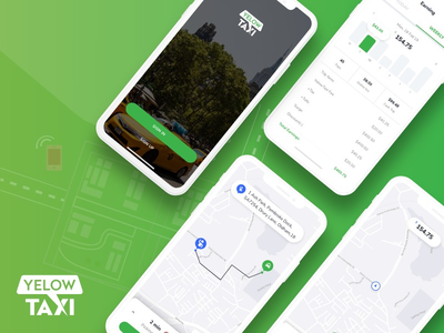 Uber like Taxi Hailing Driver App UI