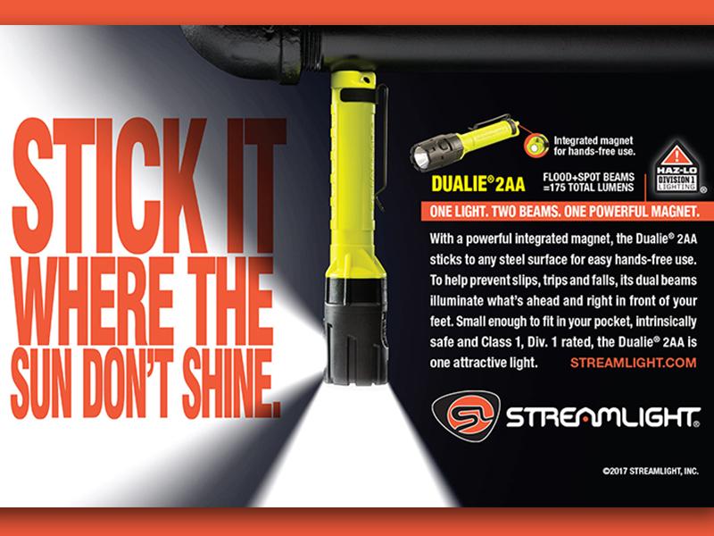 Stick It copy headline marketing advertising magnet light flash orange
