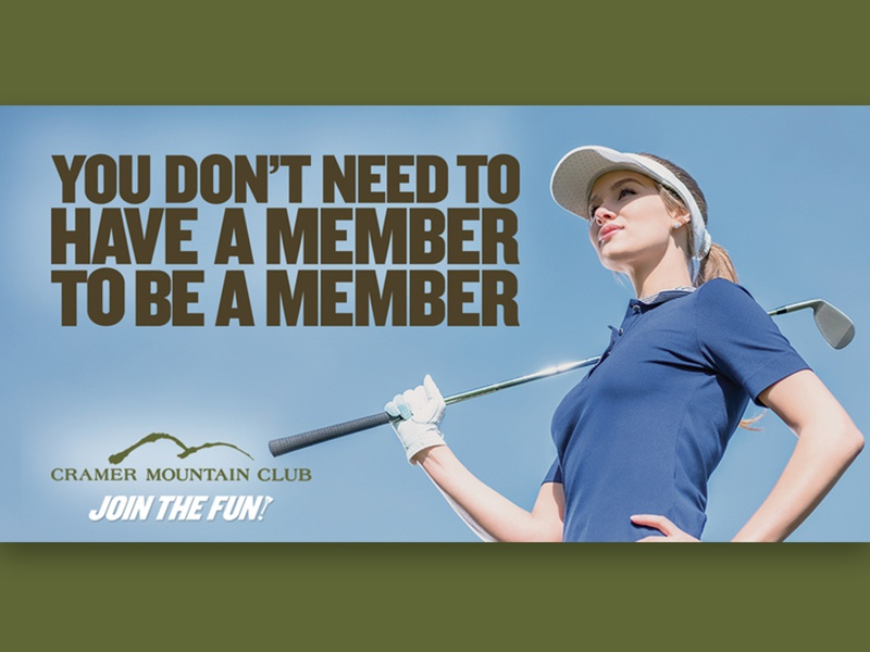 Members marketing advertising equality gender gastonia charlotte nc fun club mountain cramer golf