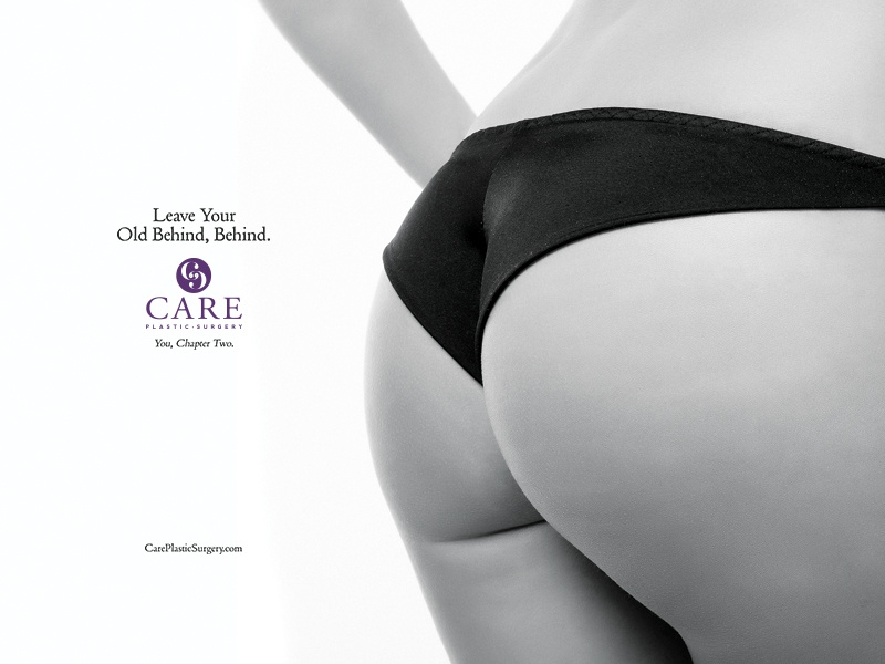Old Behind campaign purple care two natural nc cary durham plastic surgery butt behind
