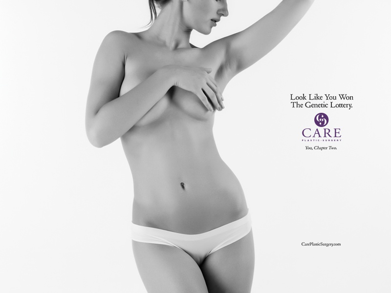 Genetic Lottery campaign photography white black results natural purple nc durham cary plastic surgery lottery