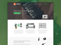 Voxer Homepage