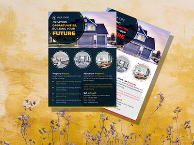 Elegant flyer design for your agency marketing design