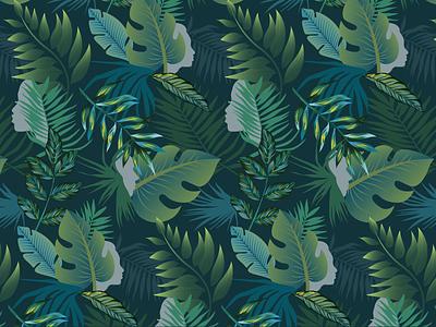 Wallpaper green pattern illustration botanical illustration profile leaves botanical tropical wallpaper greenbuild