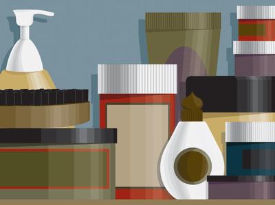 bottles illustrator shelf pills illustration vector bottle