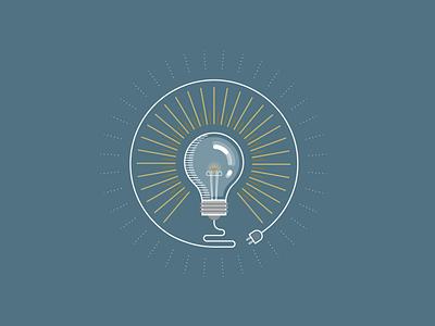 light light bulb draw illustrator vector illustration