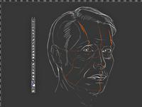 sketch - Hannibal Lecter