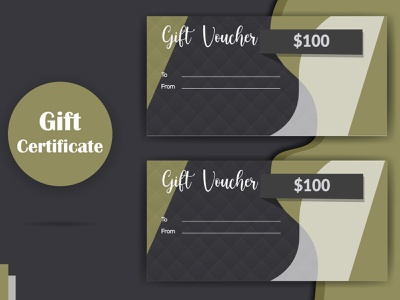 Gift Voucher event discount card discount dinner creative coupon card boutique black gift voucher beauty card feminine cards  advertisement luxury cards lookbook catalog line sheet fashion magazines credit card loyalty card beauty business