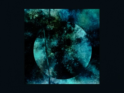 MTRL - Territories [IO:008] photoshop stars space abstract cover artwork cover art cover music