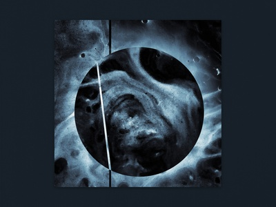 Dycide - Mond [IO:009] moon texture abstract cover art cover artwork cover music