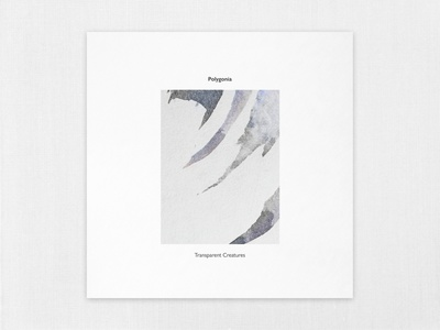 Polygonia - Transparent Creatures [Lowless] design cover artwork cover art cover music artwork abstract