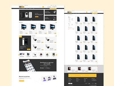 E-Commerce online shop internet shop e-commerce web dizayn web design ux ui