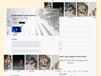 Corporate Website Design for IT company website corporate website web dizayn web design ux ui