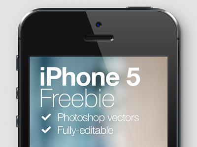iPhone 5 Freebie iphone 5 freebie psd vector free