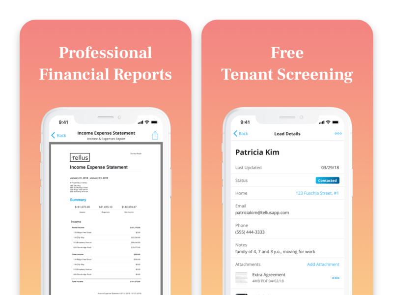 Rental App - App Store Screenshots 2